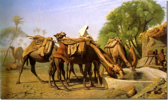 Camels_at_the_Trough